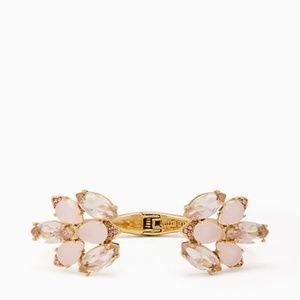 kate spade blushing blooms cuff bracelet NWT